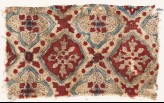 Textile fragment with quatrefoils and squares (EA1990.992)
