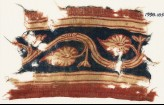 Textile fragment with vine and palmettes (EA1990.1057)