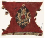 Textile fragment with flower (EA1990.1091)