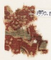 Textile fragment, probably with floral design (EA1990.1234)