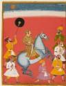 Maharana Raj Singh riding