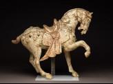Earthenware figure of a horse