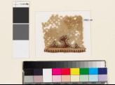 Textile fragment with half-palmette, diamond-shapes, and trefoils (EA1993.110)