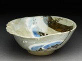 Bowl with pine branch