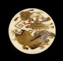 Manjū netsuke with takaramono, or precious things