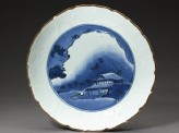 Dish with a night landscape (EA2002.57)