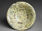 Bowl with animals and plants