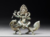 Figure of Sitajambhala on a dragon