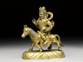 Figure of Kubera on a horse (EA2006.55)