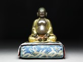 Figure of Hvashang seated on a cushion (EA2006.57)