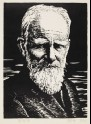 Portrait of George Bernard Shaw