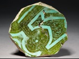 Base fragment of a bowl
