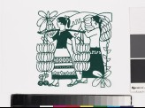 Women harvesting bananas