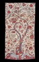 Fragment of a palampore, or bed cover, with tree of life