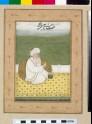 Shaikh Sa'di seated on a terrace
