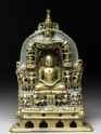 Shrine depicting the Tirthankara Kuntunatha (EAOS.110)