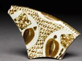 Fragment of polychrome lustreware (EAP.69)