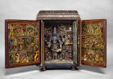 Portable shrine of Vishnu as Venkateshwara