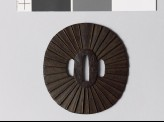 Tsuba with 32 radiating lines (EAX.10084)