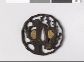 Tsuba with plum tree (EAX.10248)