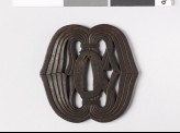 Tsuba with noshi, or auspicious abalone (EAX.10251)
