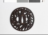 Tsuba with karigane, or flying geese (EAX.10445)
