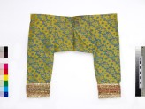 Child's trousers with floral pattern