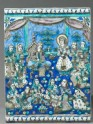 Tile depicting the story of Yusuf and Zulaikha