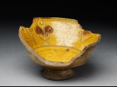 Fragment of a bowl with fleurs-de-lys