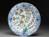 Dish with carnations and hyacinths (EAX.3275)