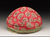 Boy's cap with buta pattern