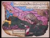 Hunter shooting a leopard