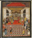 Durbar of Emperor Akbar Shah II
