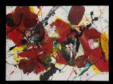 Red, yellow, and black abstraction