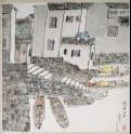 Riverside scene, Suzhou (LI2022.148)