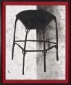 Fan-shaped stool