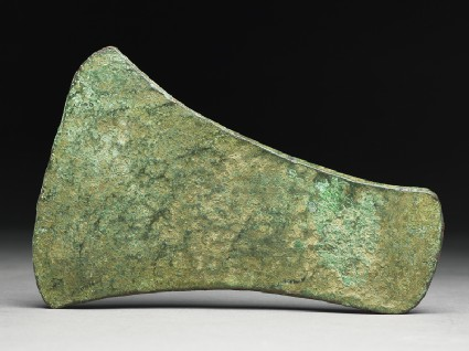 Copper celt, or axe head, from the Copper Hoard Cultureside