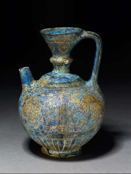 Ewer with rosettes, lozenges, and scrollsoblique