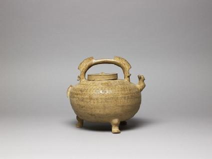 Greenware water vessel, or heside