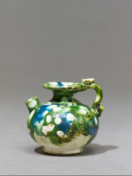 Small ewer with handleside