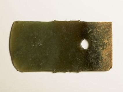 Jade ceremonial blade, or geside