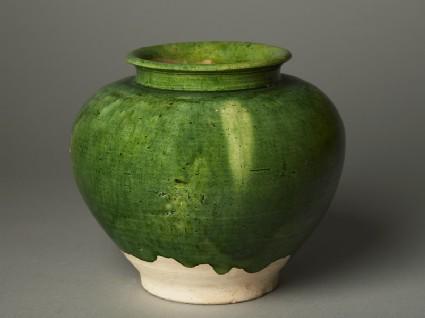 Green-glazed jaroblique