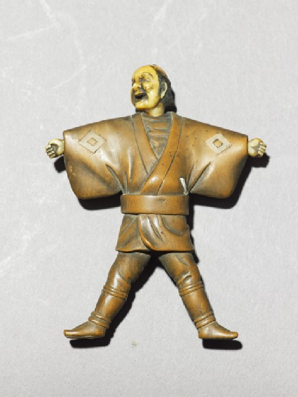 Netsuke in the form of a manfront