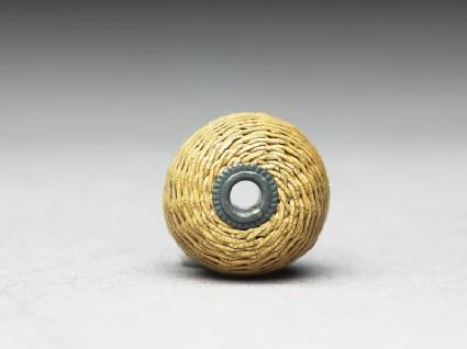 Woven bamboo ojimetop