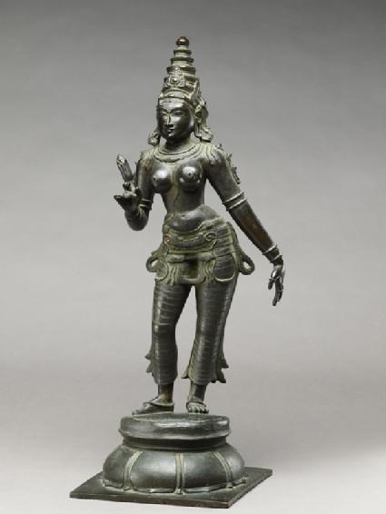 Standing figure of Gauriside