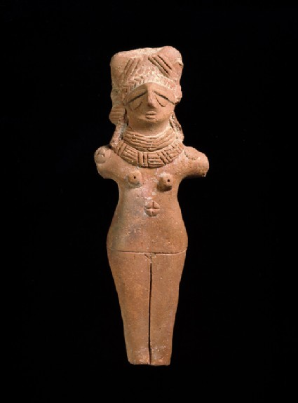 Terracotta female figurefront