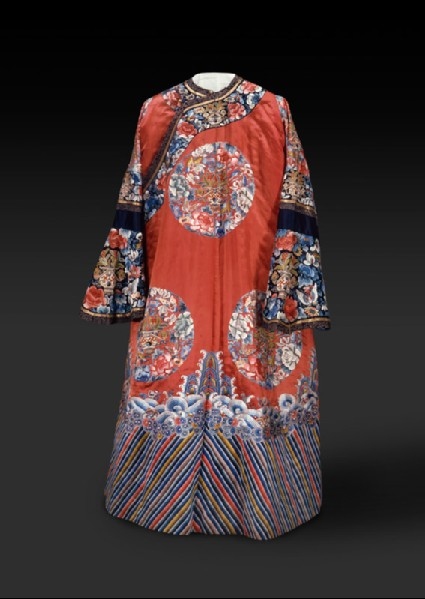 Robe with roundels and wavesfront