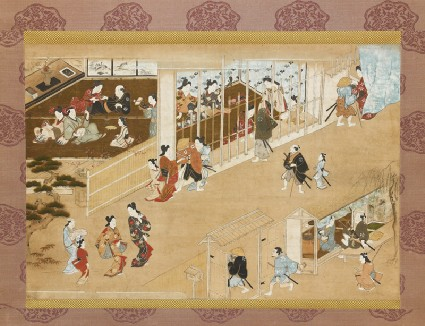 Yoshiwara pleasure quartersfront