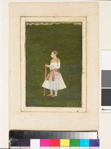 Roshan-ud-Dowlah as a young manfront