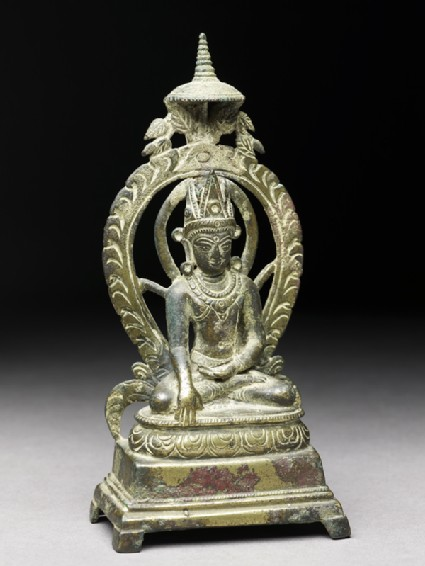 Figure of the Crowned Buddhaoblique
